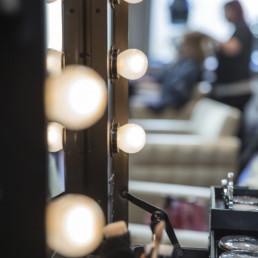 Lys i frisørsalong frisør askim