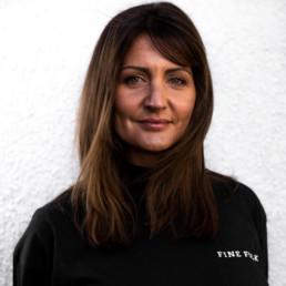 Christine, daglig leder frisør askim